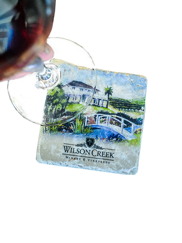 Watercolor Wilson Creek Coaster