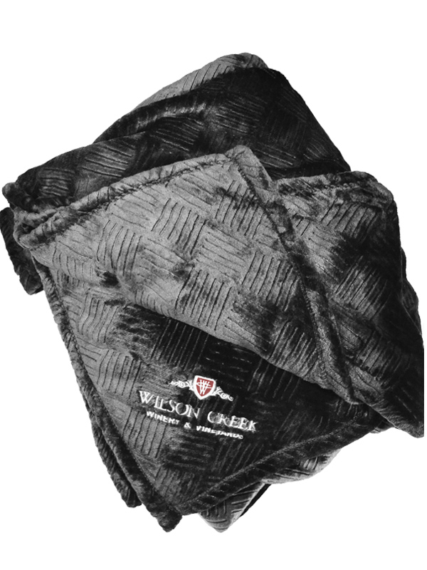 Wilson Creek black Luxury Blanket