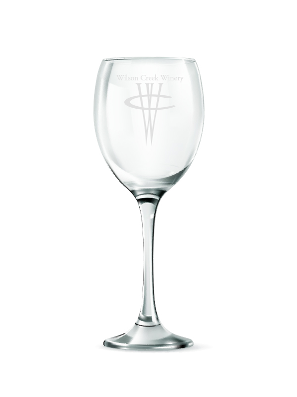 Wilson Creek Logo- 2 pack glassware
